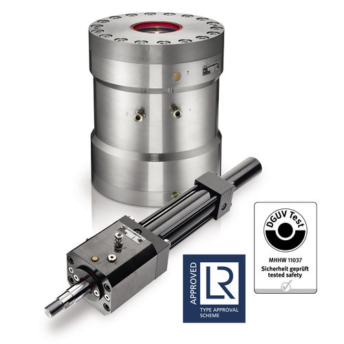 弹簧和液压释放夹紧设备 / 安全 / 轴