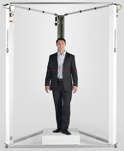 3D扫描仪 / 测量 / 身体 / 激光