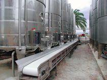 PVC输送带 / 不锈钢 / 用于食品行业
