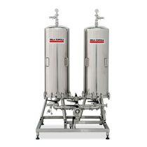 芯式过滤器外壳 / 用于液体 / 不锈钢 / 卫生