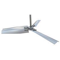搅拌器桨叶 / 3 桨板式 / 轴向流量