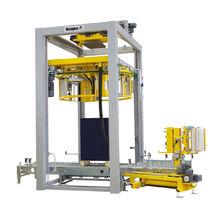 环体缠绕包装机 / 自动 / 拉伸膜 / 带有传送装置