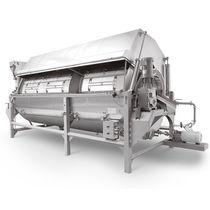 烫漂蒸煮机 / 用于食品行业 / 连续