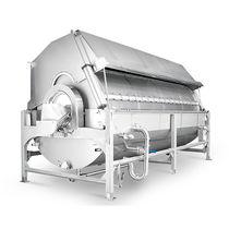 烫漂蒸煮机 / 蒸汽 / 用于食品行业 / 滚筒