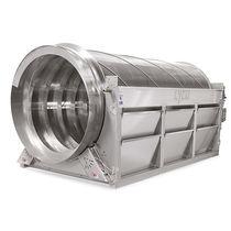 滚筒拦污栅 / 旋转 / 用于废水处理