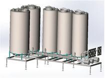 CIP现场清洁设备 / 用于食品工业