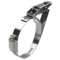 不锈钢卡箍 / 蜗杆 / 带式 / 快速锁闭型
