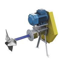用于工业的搅拌器 / 螺旋桨 / 卧式 / 用于水(油)箱