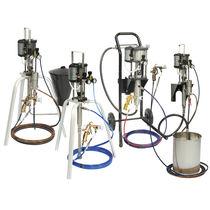 油漆泵 / 气动式 / 活塞 / 喷雾