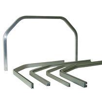铝制型材 / 凹凸 / 用于门