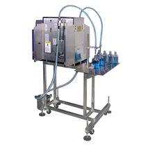 玻璃瓶灌装机 / 半自动 / 容积式 / 液体