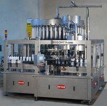 美容乳霜灌装压盖一体机 / 液体 / 旋转 / 容积式