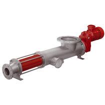 食品卫生泵 / 电动 / 偏心螺旋式 / 用于高粘度液体