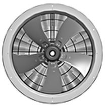 轴流风机 / 空气循环 / EC电机 / 工业