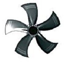 轴流风机 / 空气循环 / EC电机 / 钢