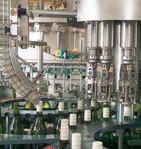 旋转封盖机 / 滚筒 / 玻璃瓶 / 用于饮料产业