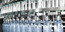PET塑料瓶灌装机 / 自动 / 用于含气饮料 / 电动压气
