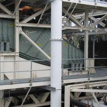 线性振动筛 / 用于散装材料 / 用于矿场 / 双层式