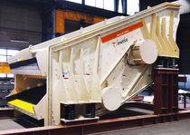 线性振动筛 / 用于散装材料 / 用于矿场 / 香蕉船型