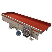 振动给料机 / 连续运动式 / 用于传送毯