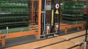 货盘传送系统 / 玻璃瓶 / 用于玻璃容器