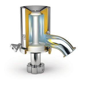 隔膜阀门 / 温度调节 / 用于焊接机器 / 卡箍连接