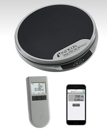 精准秤 / 带LCD显示器 / 用于制冷剂 Wey-TEK HD INFICON