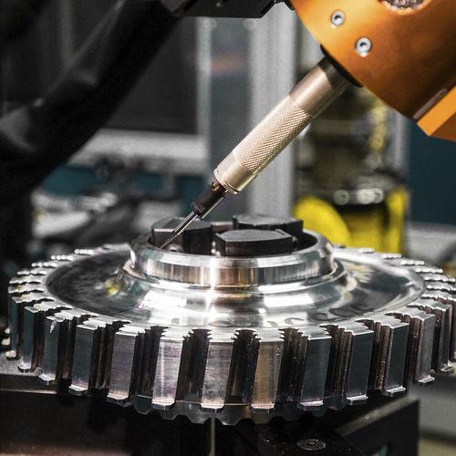 去毛刺机器人加工单元 / 末道 / 抛光 / 用于航空工业 Acme Manufacturing Company