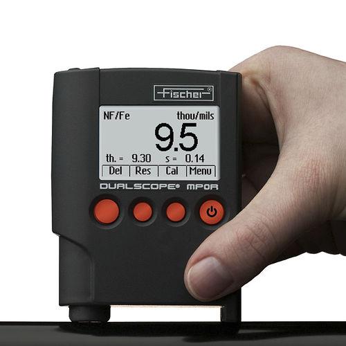 涂层测厚仪 / 便携式 MP0R Series FISCHER GmbH
