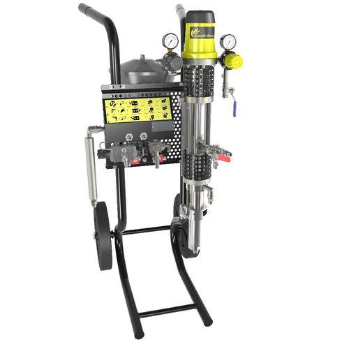 化学品泵 / 正常启动式 / 移动式 / 机械 PU 2125 F SAMES KREMLIN
