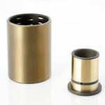 圆柱滑动轴承 / 铜 / 铝合金 / 耐腐蚀
