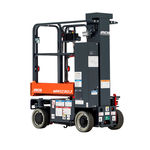 移动式桅杆式升降机 / 用于仓库 / 室内 / 电动