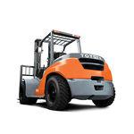 平衡重式叉车 / GPL / 柴油 / 坐驾式