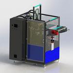 伸缩套筒贴标机 / 自动 / 瓶子 / 用于制药业