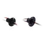 信号传输滑环 / 紧凑型 / 带有金质接触件 / IP67