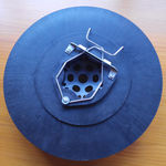 环形刷子 / 抛光 / 聚丙烯 / 用于机加工