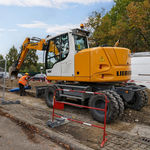 中型挖掘机 / 带轮 / 用于工地 / 柴油 A 912 Compact Litronic  Liebherr Excavators