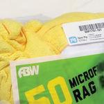 微纤维清洁湿巾