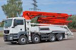 工程混凝土泵车 / 工业