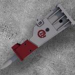 液压锤钻 / 建筑工地