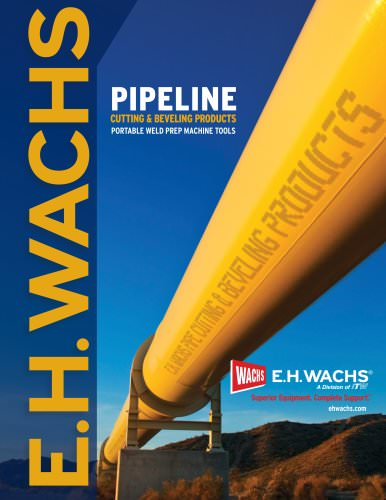PIPELINE CUTTING & BEVELING PRODUCTS