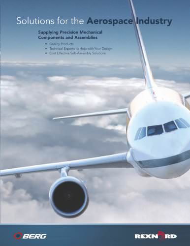 Solution for the aerospace industry