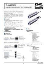 RADIATION THERMOMETERS On-line model