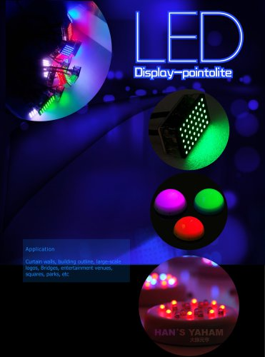 YAHAM LED display-pointolite series  catalogue