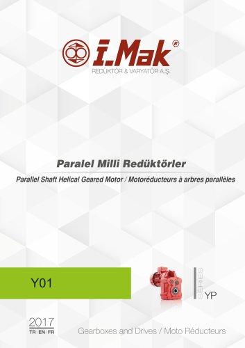 Parallel geared motors - YP Series