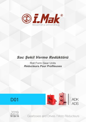 Roll form gear unit - ADK/ADS Series