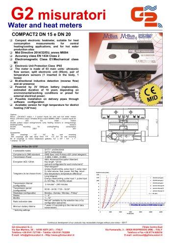 COMPACT2 DN 15 e DN 20