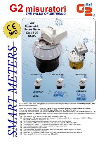 VSF Volumetric Smart Meter DN 15-20 R≤800