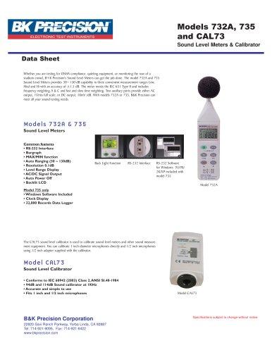 Standard Acoustic Calibrator (94dB , 1KHz Sine Wave)