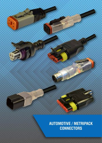 AUTOMOTIVE / METRIPACK CONNECTORS